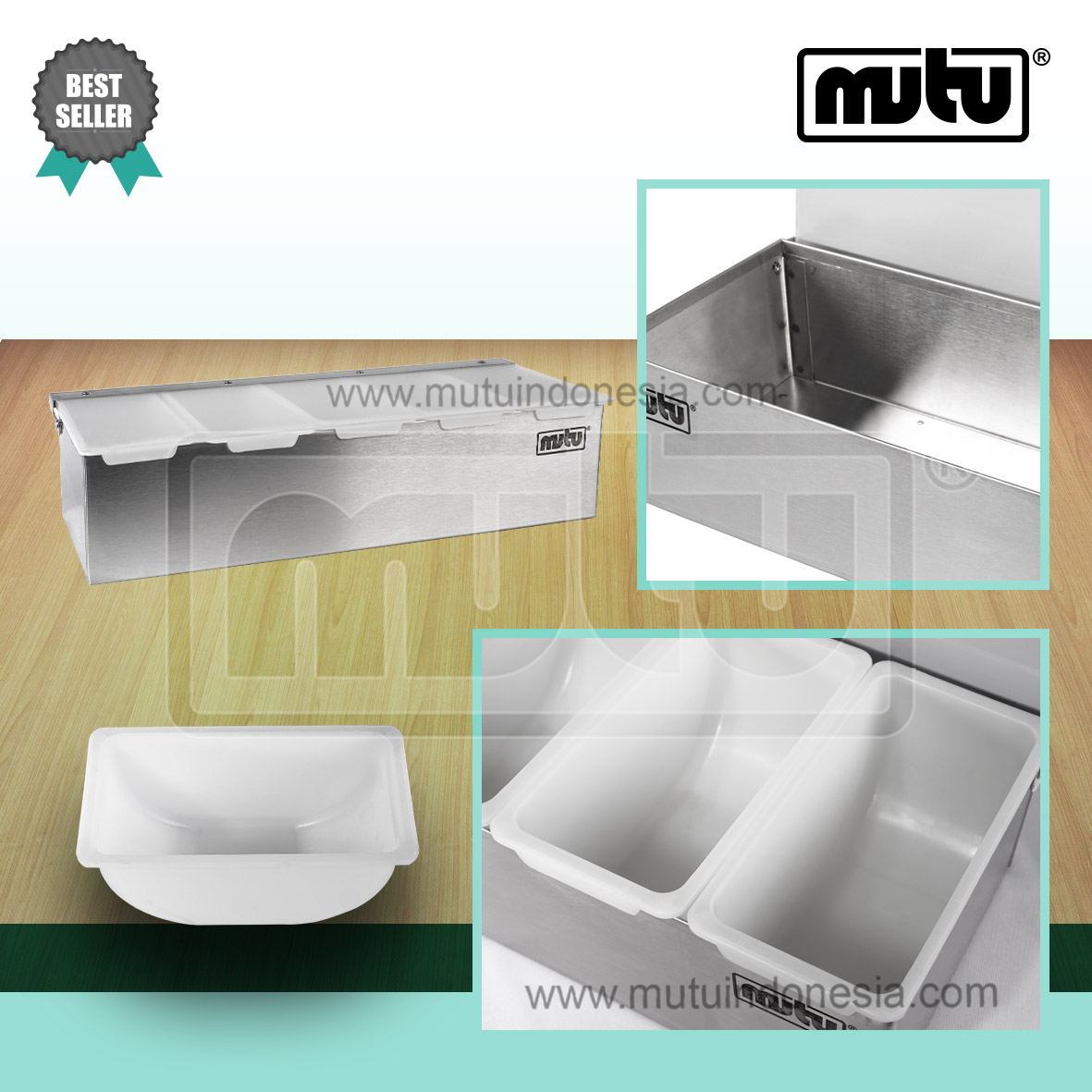 Condiment Holder Tempat Bumbu CMH-5 Mutu Indonesia