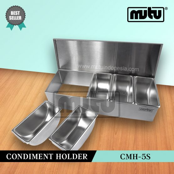 Condiment Holder Tempat Bumbu CMH-5S Mutu Indonesia