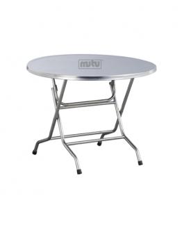 Round Table Meja Bulat Lipat Mutu FRT-12