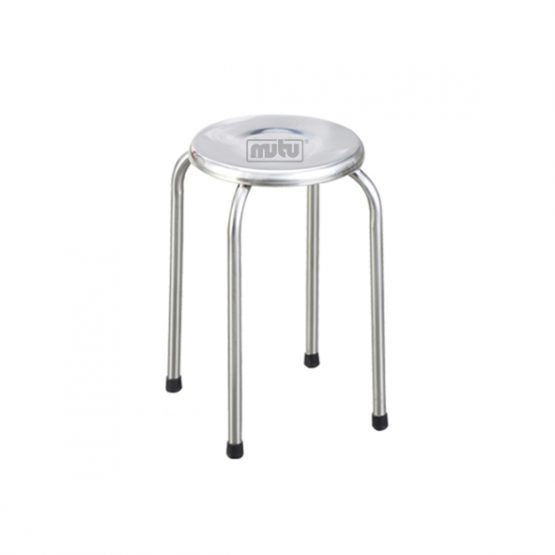 Round Stool Stainless Steel - MTPSTO-GD02 Mutu Indonesia