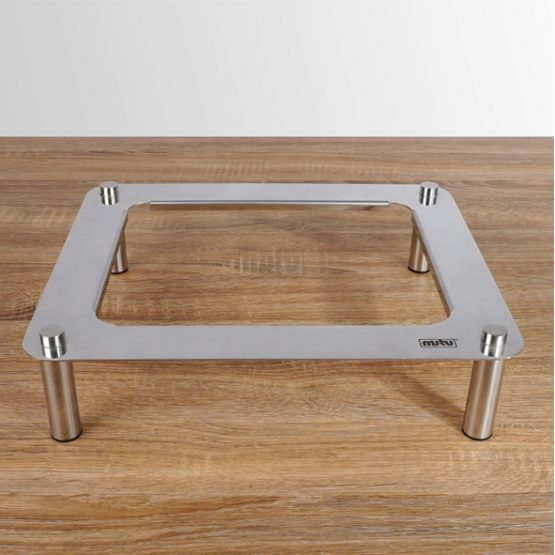 Buffet Display Stand Stainless Steel Mutu