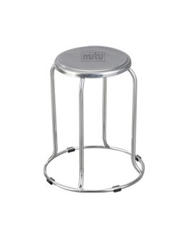 Round Stool Stainless Steel - MTPSTO-GD04 Mutu Indonesia