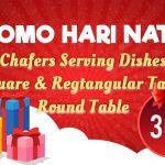 Promo Meja Lipat dan Chafing Dish Special Hari Ibu dan Hari Natal Mutu Indonesia